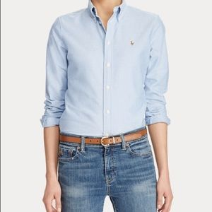 Ralph Lauren Oxford Shirt Blue